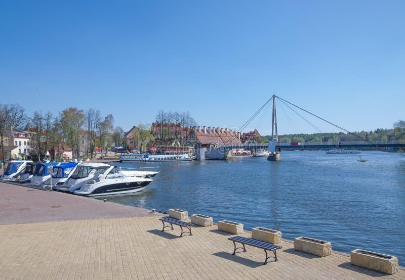 Mikolajki, Masuria, Pologne images stock