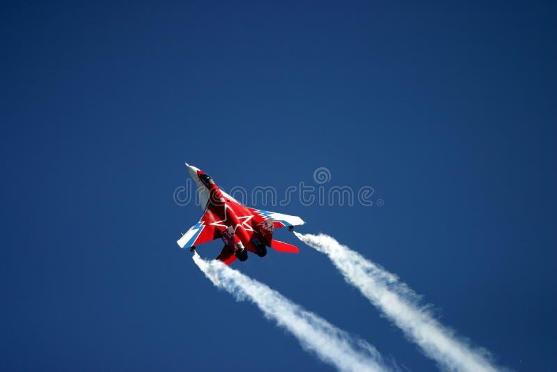 Mikoyan MiG-29 на татуировке воздуха RAF стоковые фото