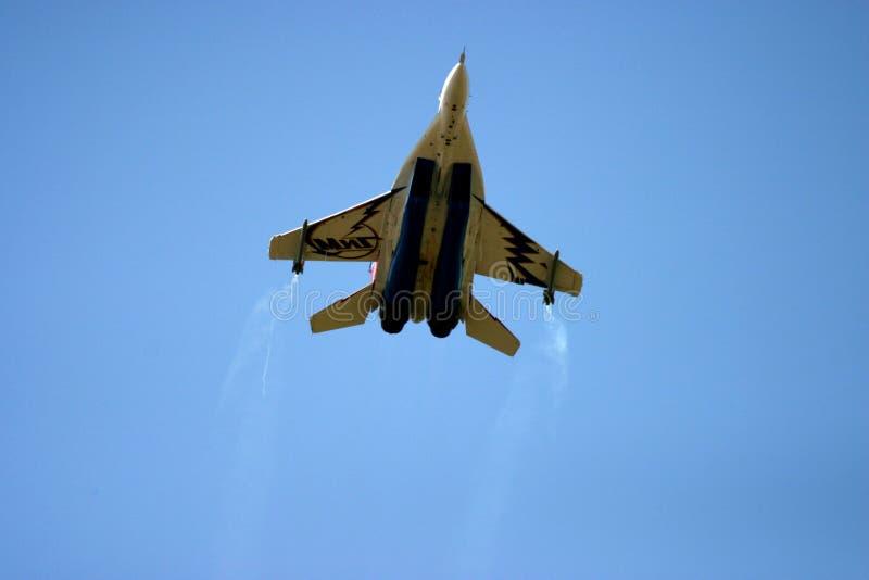 Mikoyan MiG-29 au tatouage d'air de RAF photos libres de droits