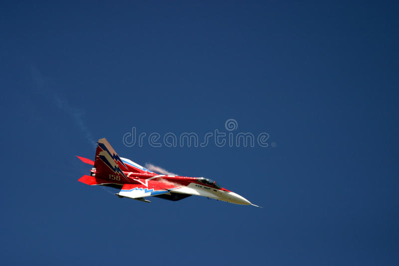 Mikoyan MiG-29 au tatouage d'air de RAF image stock
