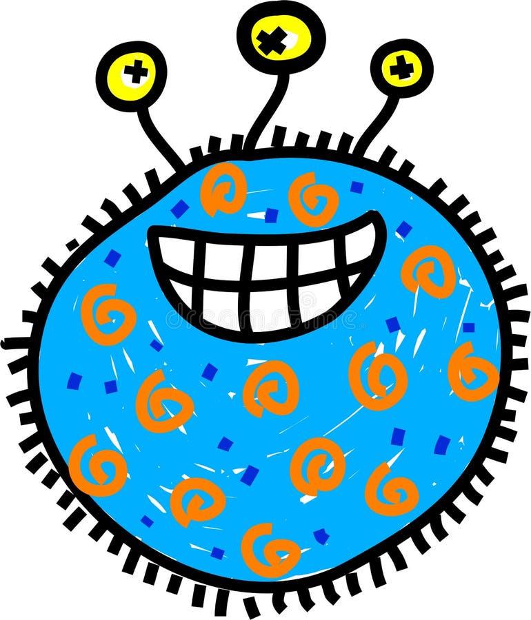 Mikrobe lizenzfreie abbildung