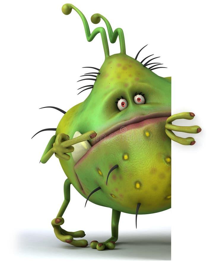 Mikrobe vektor abbildung