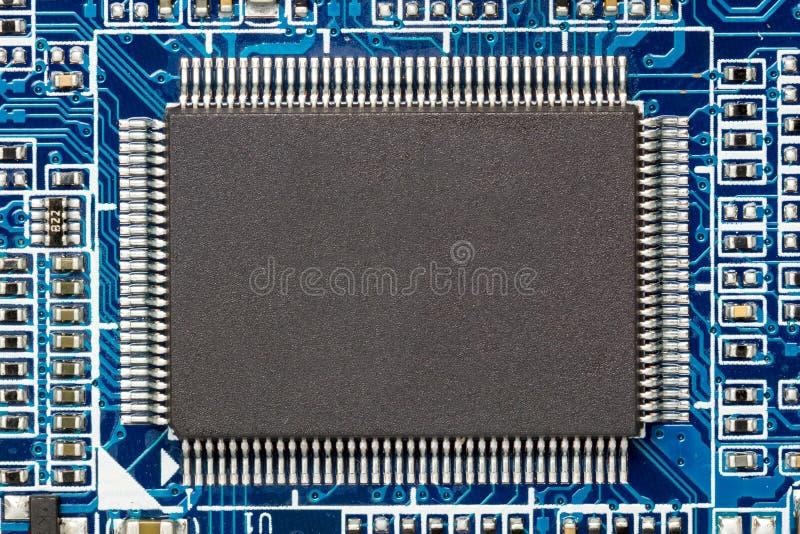 Mikrochip stockbild