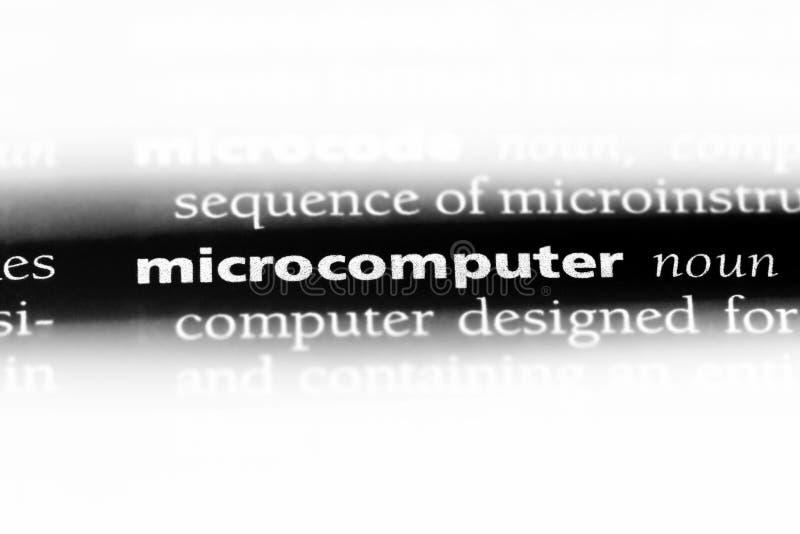 mikrodator royaltyfri foto