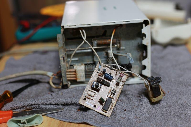 Mikroelektroniskt royaltyfria foton