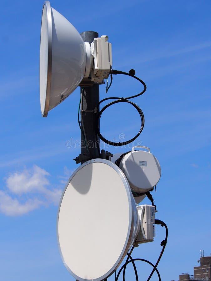 Mikrofali antena fotografia royalty free