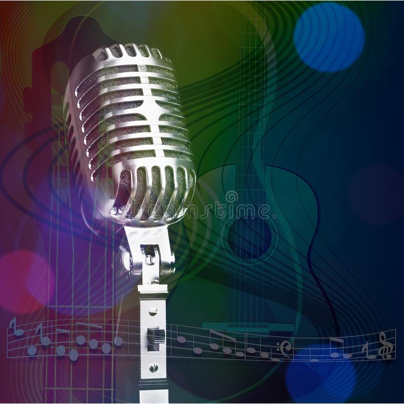 Mikrofon lizenzfreie abbildung