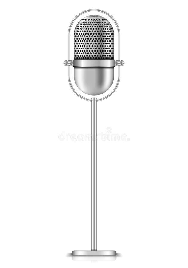 Mikrofon stock abbildung