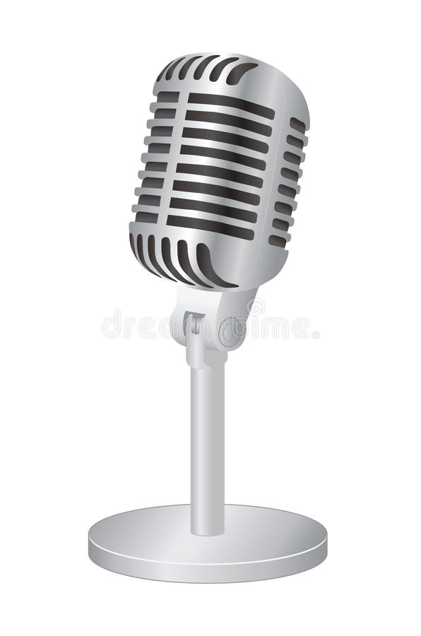 Mikrofon ilustracja wektor