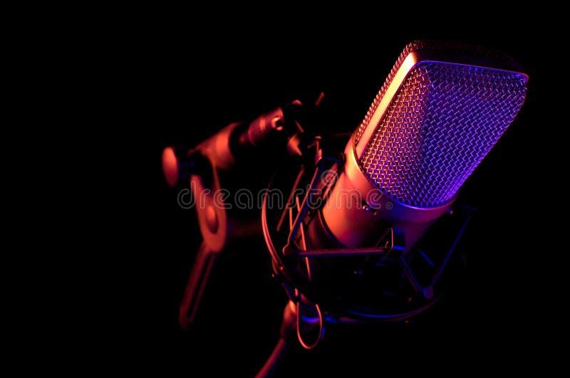 Mikrofon 1 stockfotografie