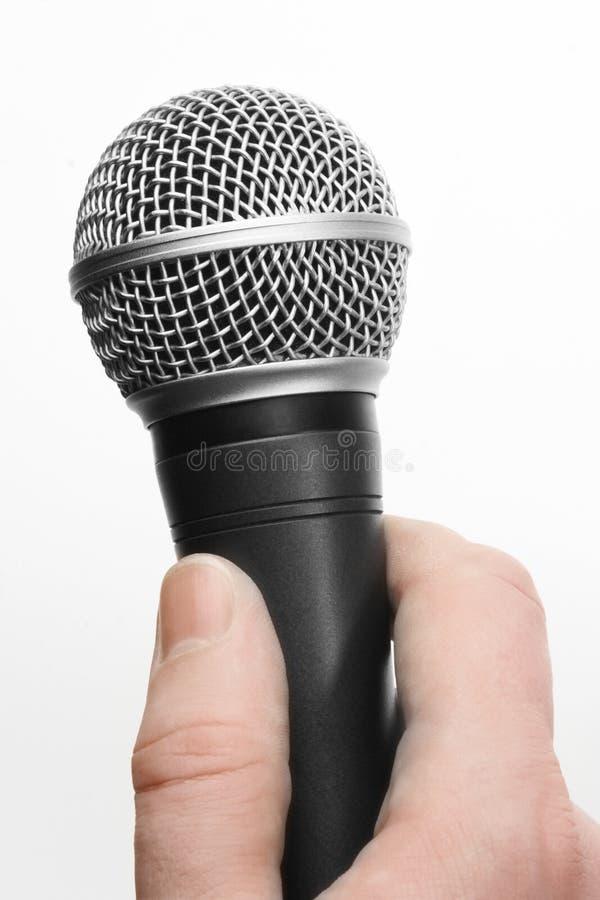 Mikrofon lizenzfreie stockfotografie