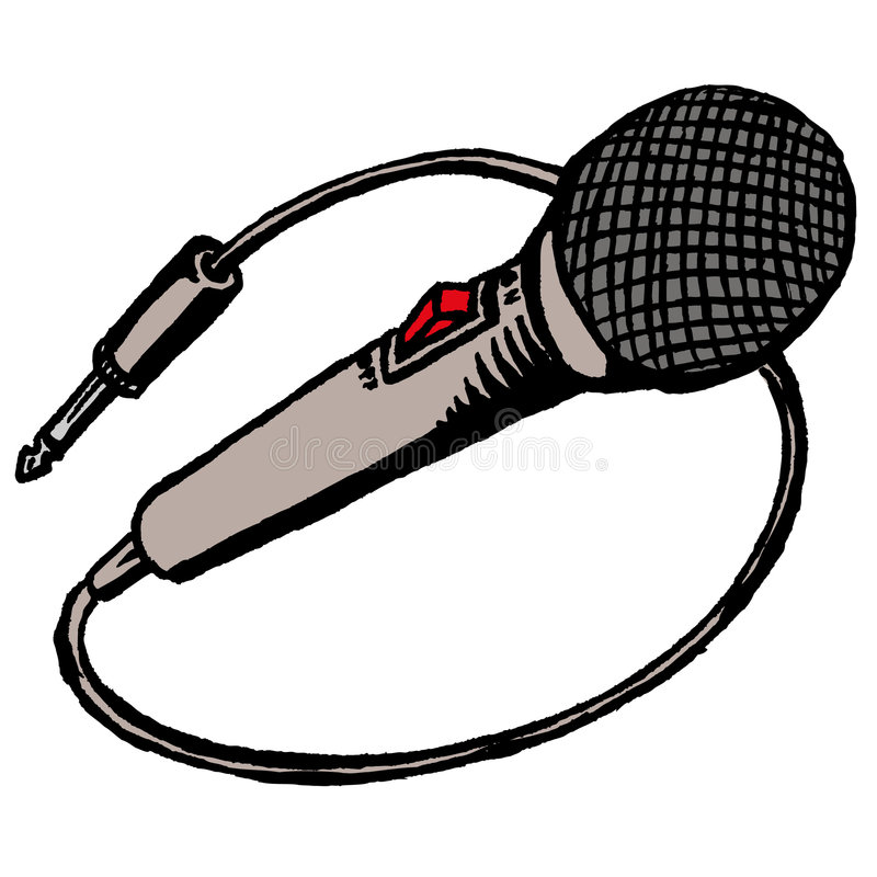 mikrofon ilustracji