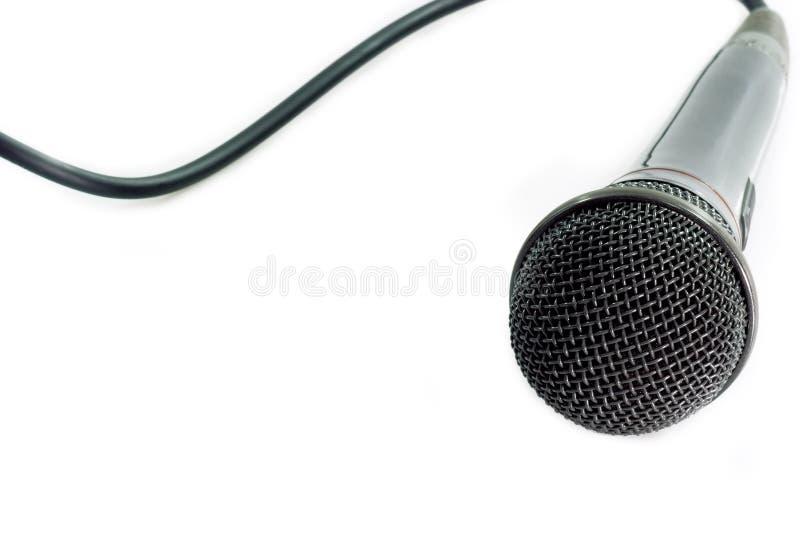 mikrofon audio fotografia stock
