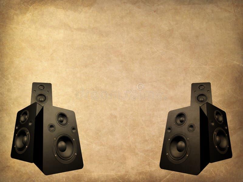 mikrofon crunch royalty ilustracja