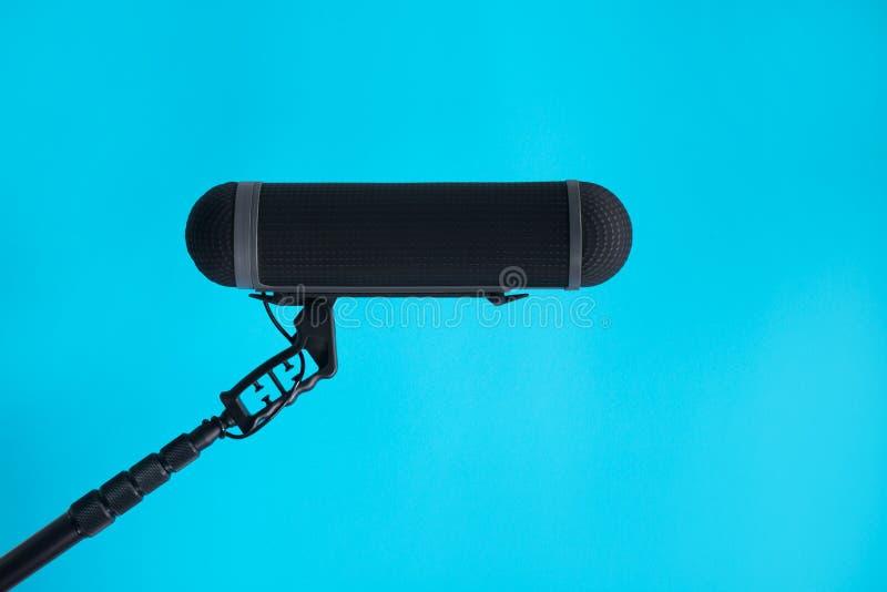 Mikrofon för solid registreringsapparat royaltyfri fotografi