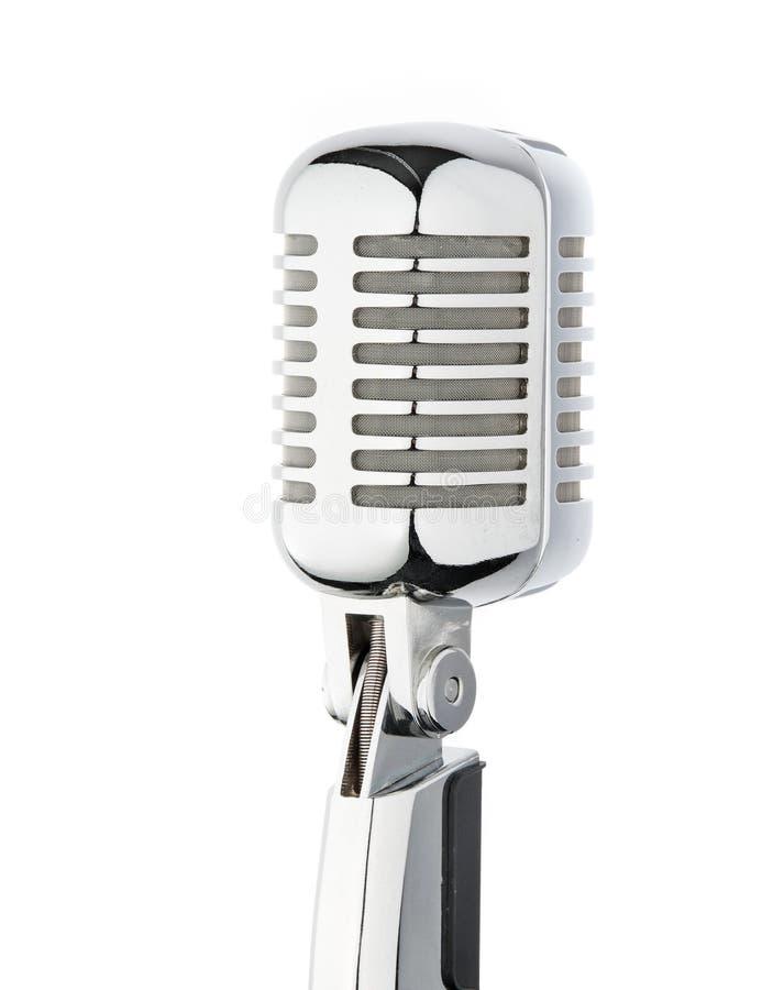 Mikrofon für Reden, Rede, Gesangkaraoke lizenzfreie stockbilder