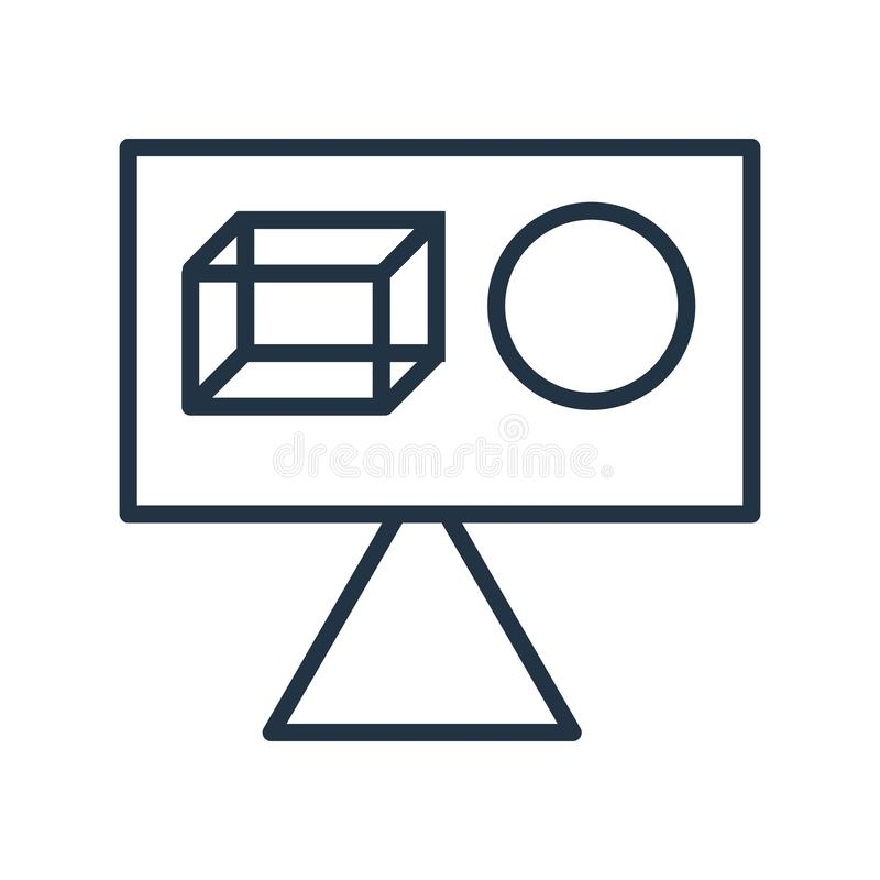 Mikrofon ikony wektor odizolowywający na białym tle, mikrofonu znak ilustracja wektor