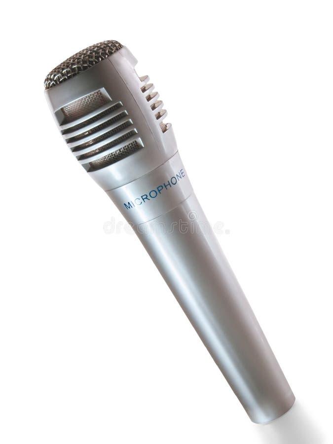 mikrofon pojedynczy fotografia stock