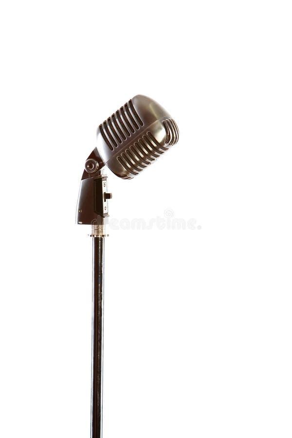 mikrofon retro obrazy stock