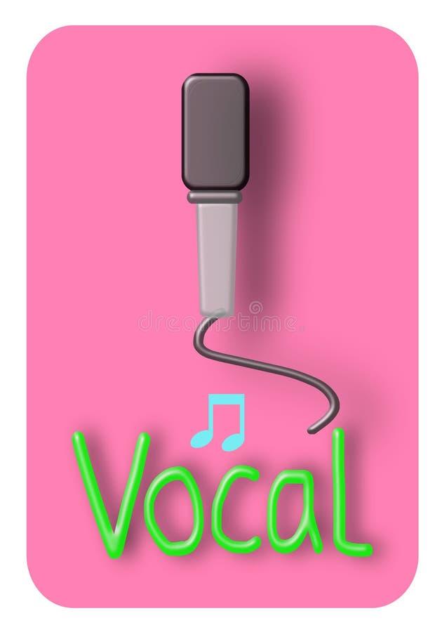 Mikrofon-Symbol-Illustration Stock Abbildung - Illustration von ...