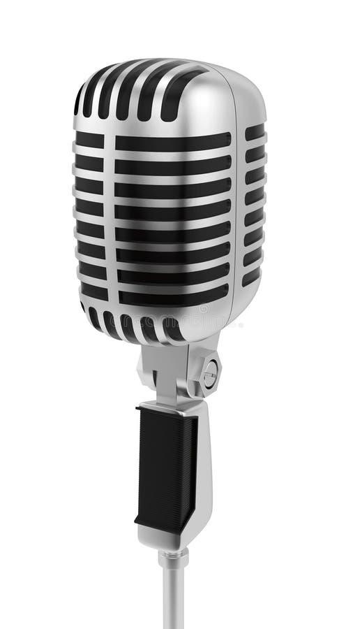 mikrofontappning vektor illustrationer
