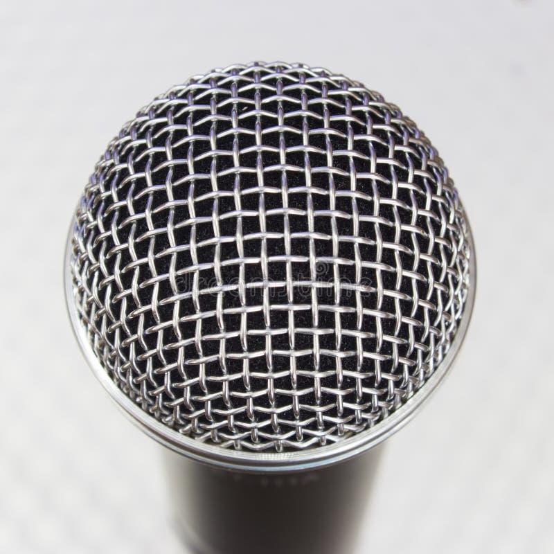 Mikrofonu Kierowniczy zbliżenie zdjęcia stock