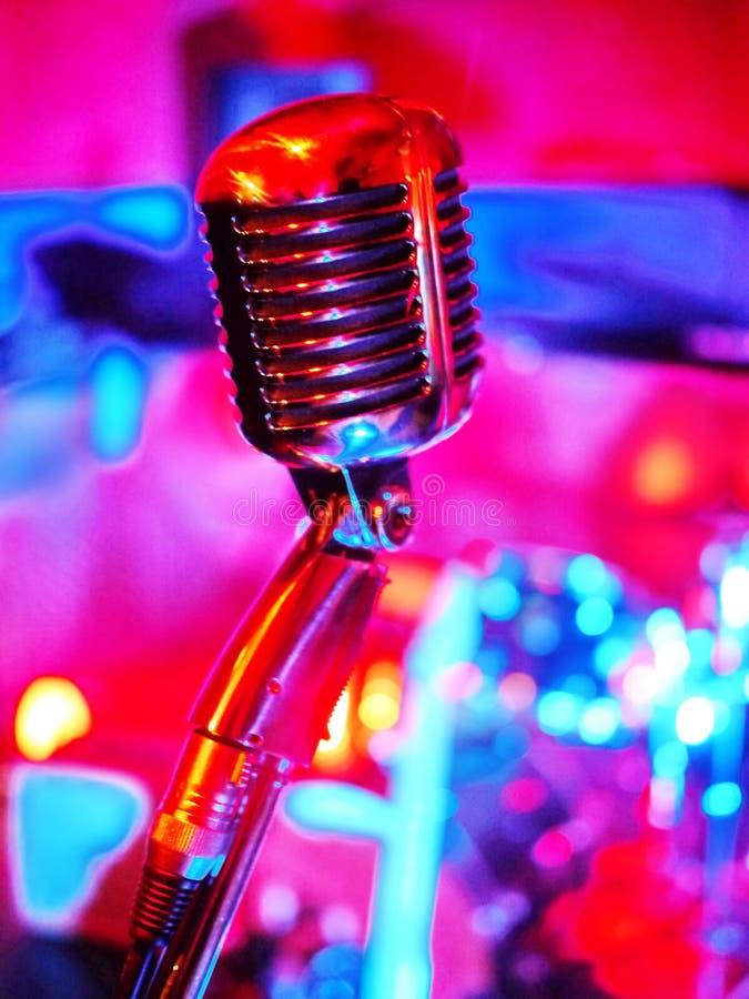 Mikrofonu klasyk zdjęcia stock