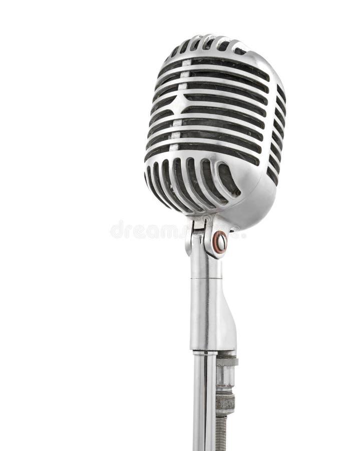 mikrofonu rocznik zdjęcia royalty free