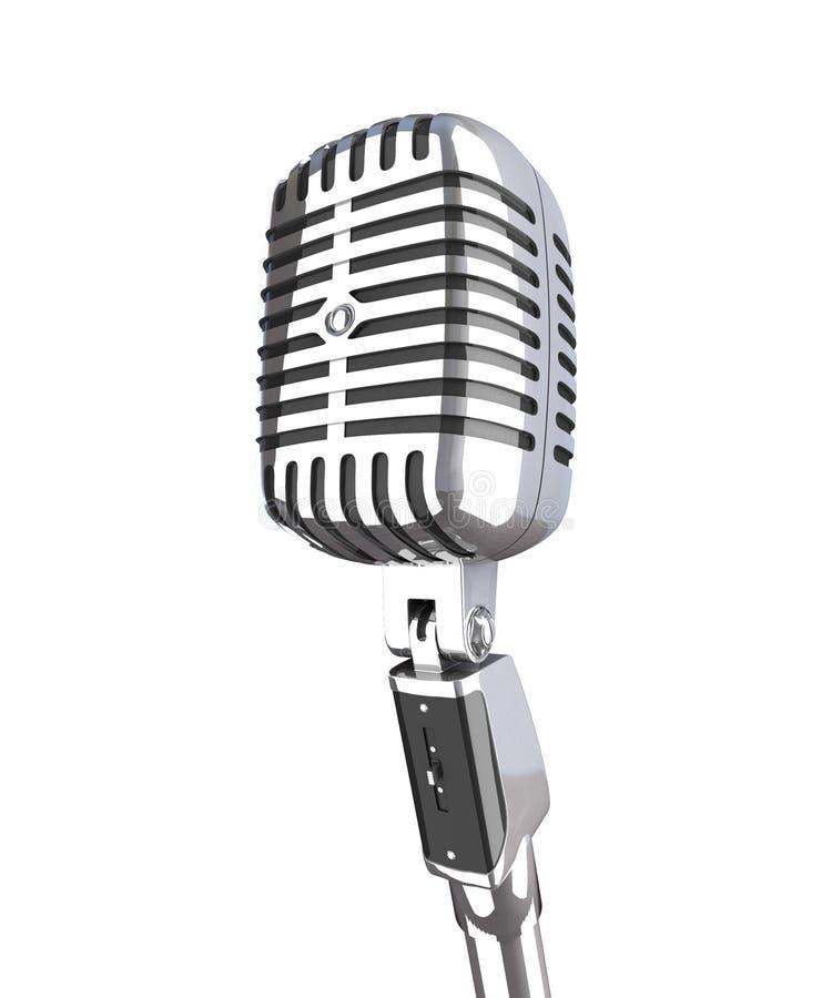 mikrofonu rocznik obrazy royalty free