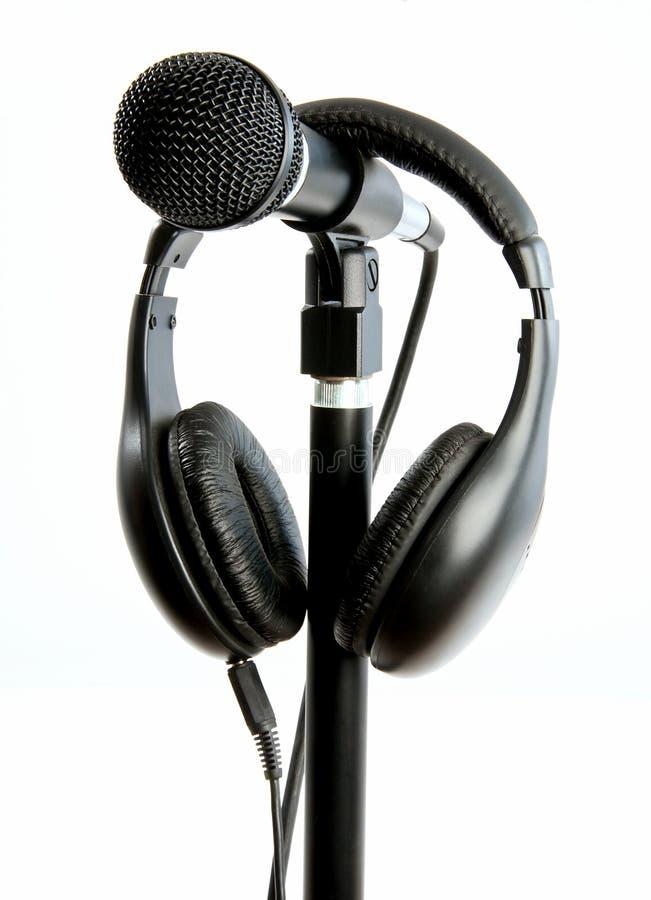 mikrofonu stojak zdjęcia stock