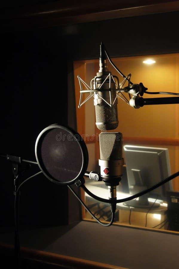 Mikrofony zdjęcia stock