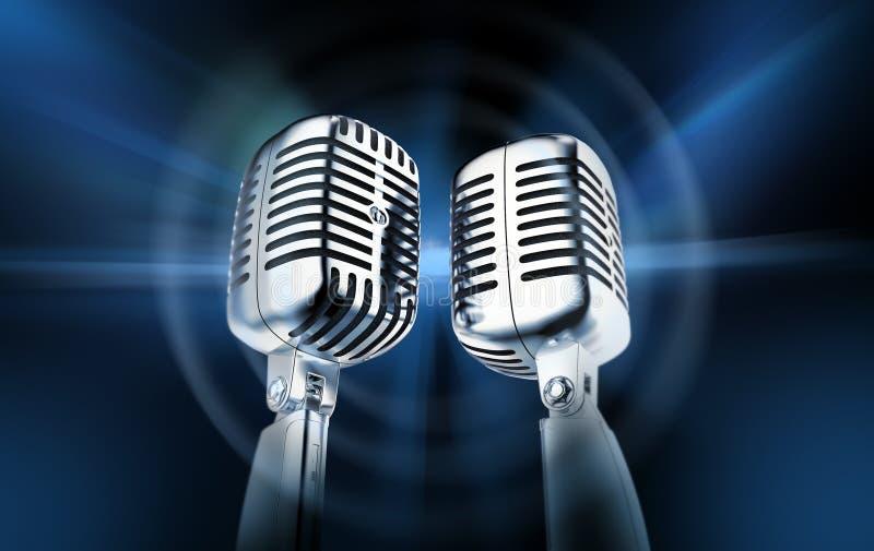 mikrofony ilustracja wektor