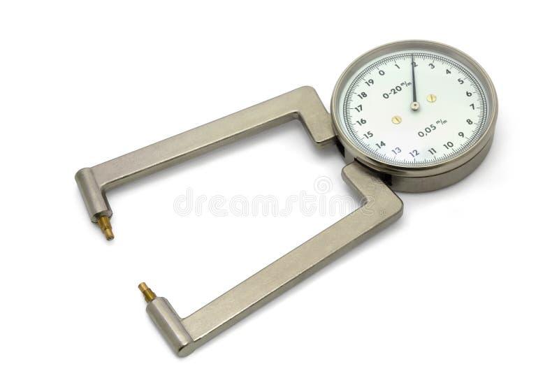 mikrometer arkivfoton