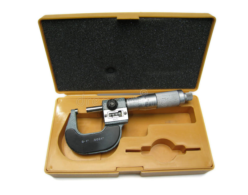 mikrometer fotografering för bildbyråer