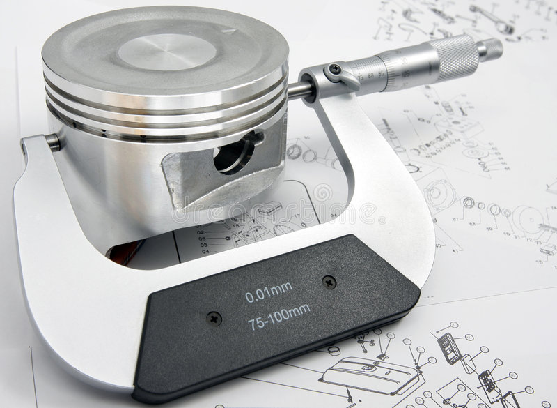 mikrometer arkivbilder