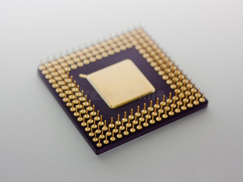 mikroprocesor fotografia royalty free