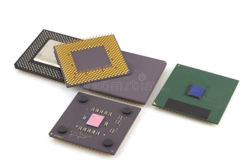 Mikroprozessoren stockfotografie
