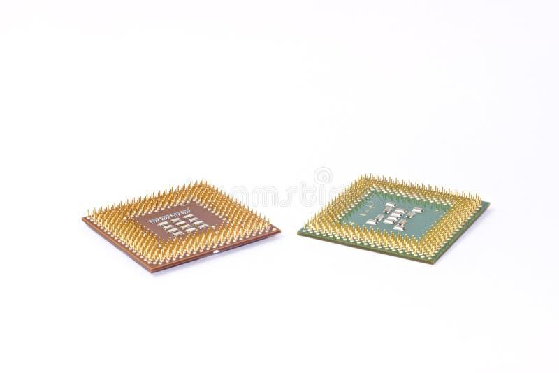 Mikroprozessoren stockfoto
