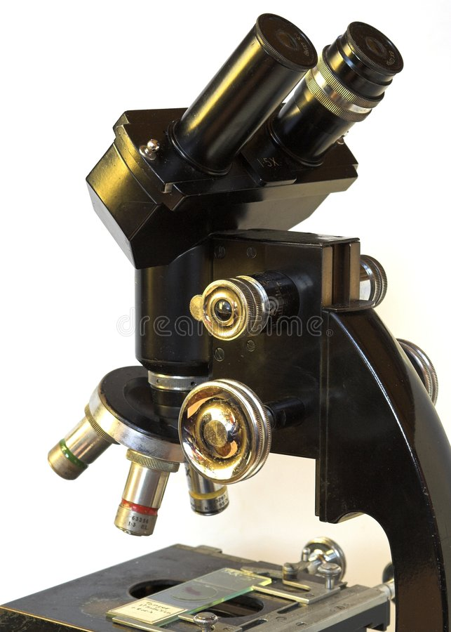 mikroskop royaltyfri foto