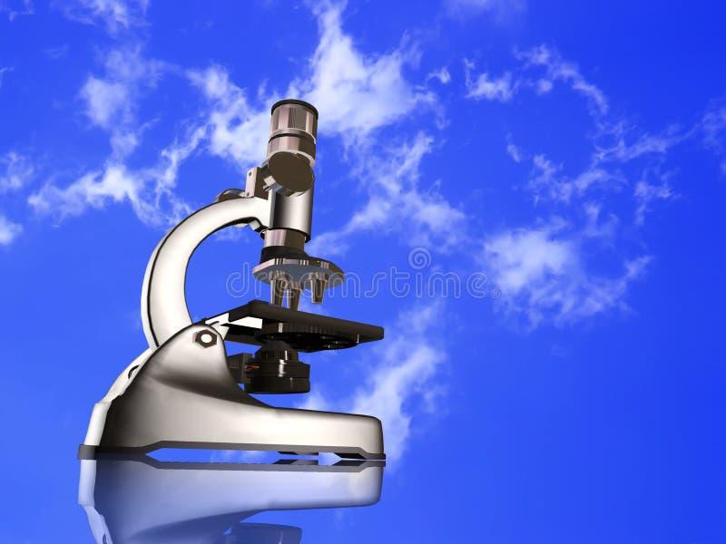 Mikroskop lizenzfreie abbildung