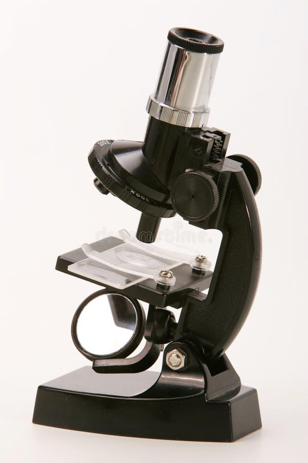 mikroskop do szkoły zdjęcia stock