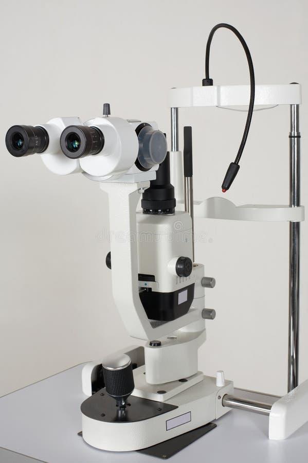 Mikroskop für medizinisches erforscht lizenzfreie stockfotografie