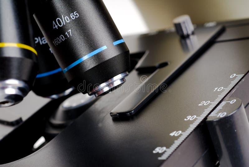 Mikroskop Optik stockbild