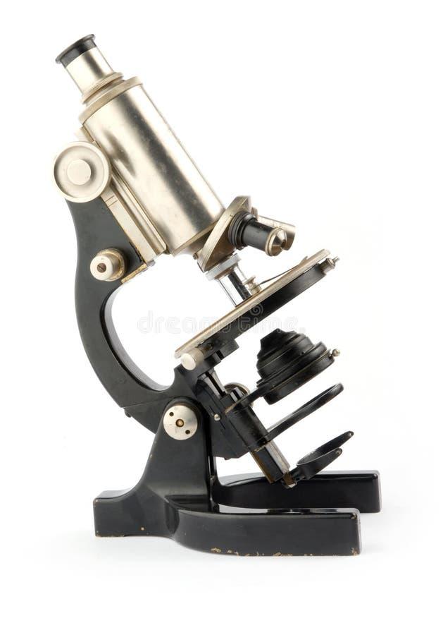 mikroskop stary zdjęcia royalty free