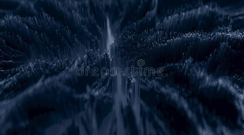 Mikroskopiskt closeupbegrepp av sm? kuber arkivbild