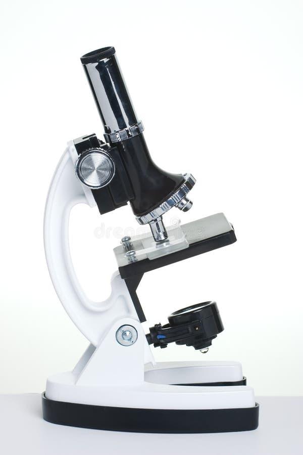 mikroskopwhite arkivbild