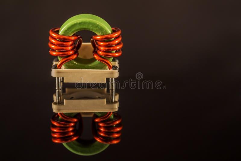 Mikrotransformator arkivfoton