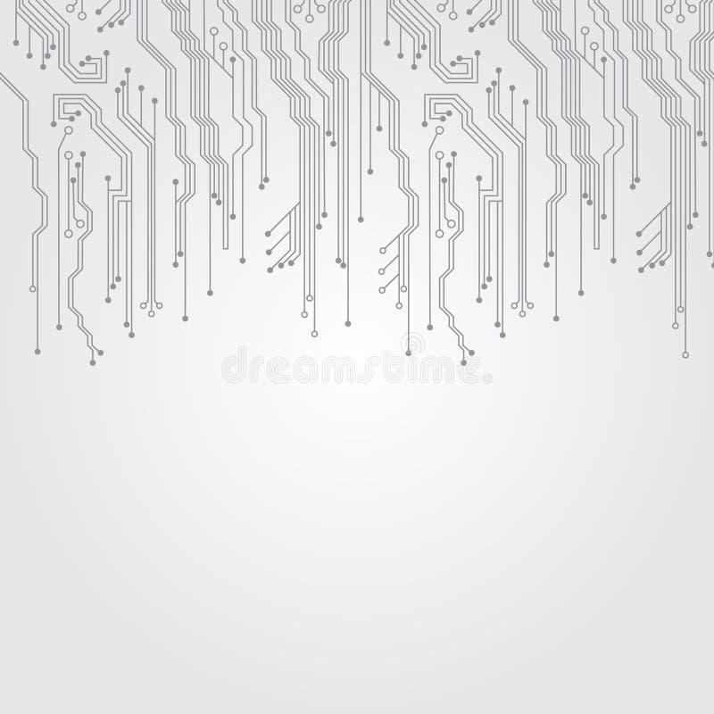 mikroukłady ilustracja wektor