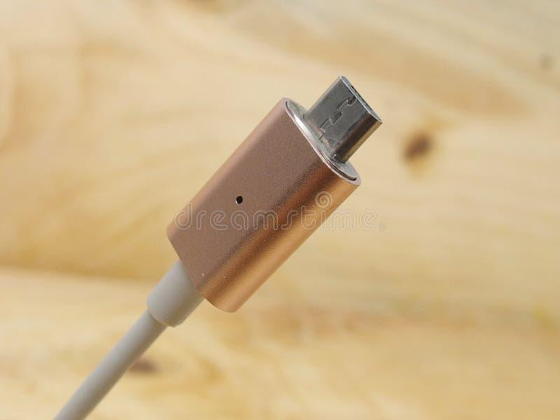 Mikrousb-Adapter stockfotografie