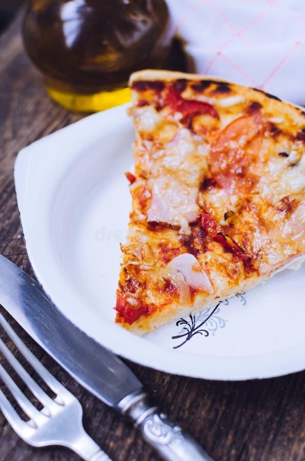 Mikstury pizzy włoszczyzny jedzenie obrazy royalty free
